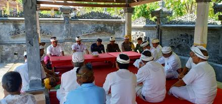 Pengukuhan Kelian Bendesa Desa Pakraman Titab