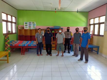 Sesuai SE Bupati Buleleng, Pemerintah Desa Titab Siapkan Tempat Isolasi Khusus Bagi PMI